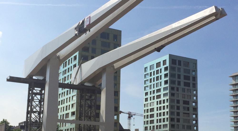 Montagewerken Londenbrug Antwerpen