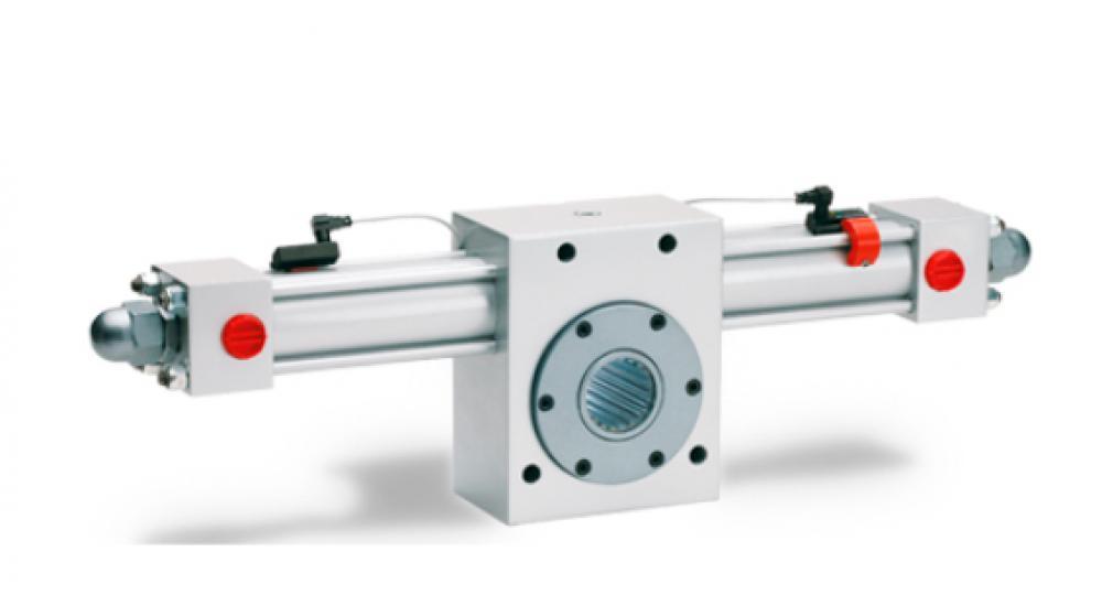 Vérin rotatif ISO 6020/2 à commande magnétique réglable