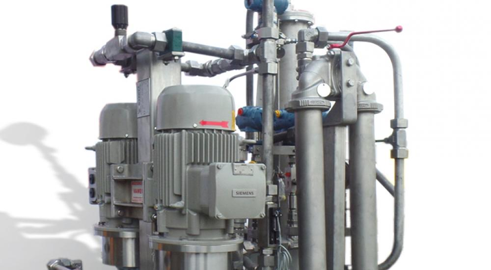 Hydraulic cooling and lubrication unit (stainless steel)
