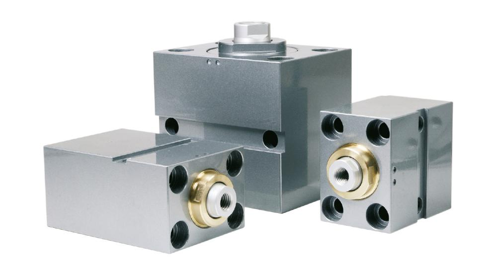 Compact block cylinder