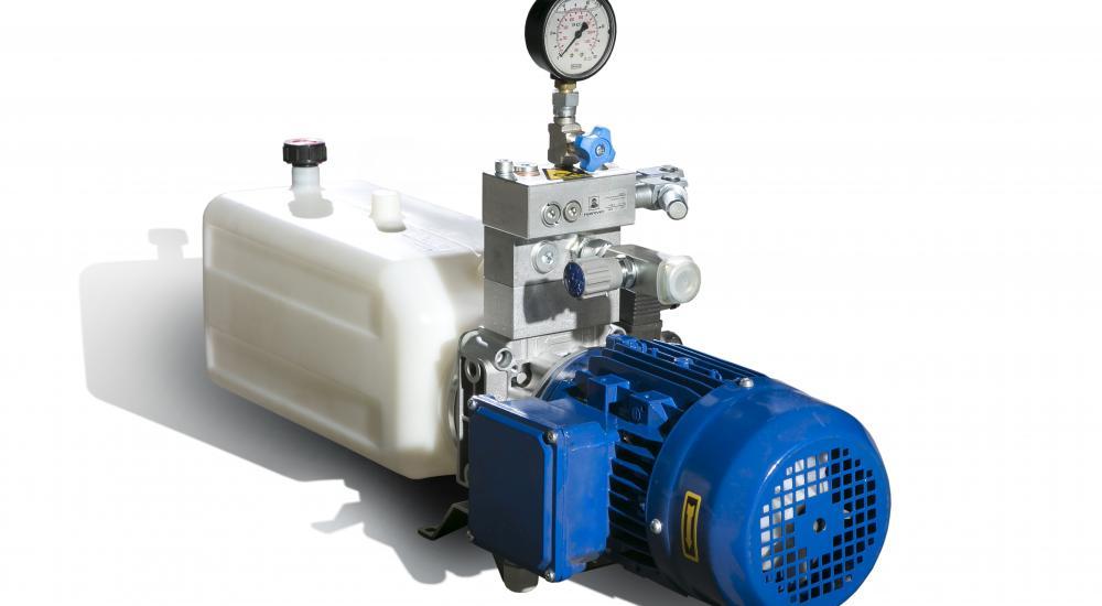 Hydraulic compact unit