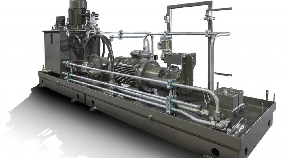 Hydraulic unit – Custom work from A to Z (engineering, design and construction)