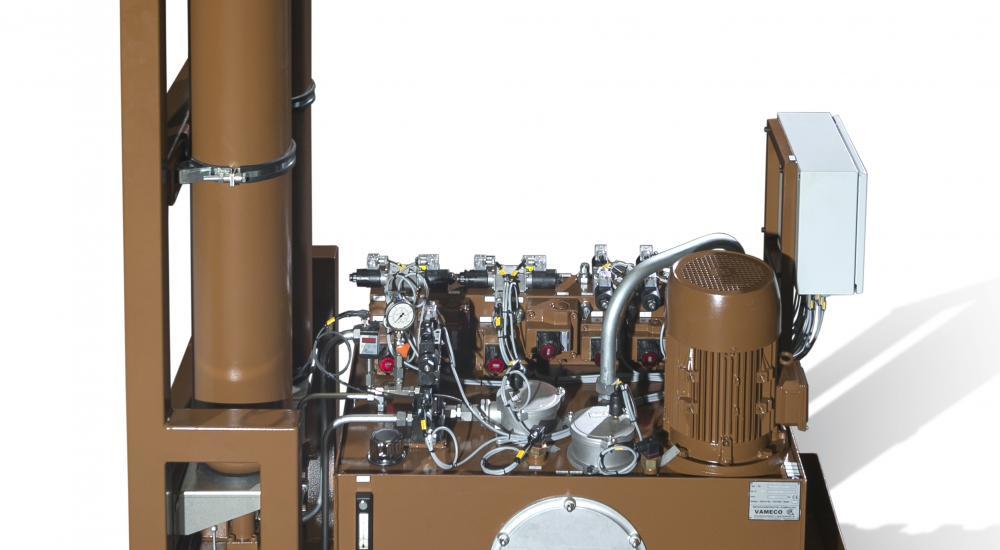 Groupe hydraulique - Projet sur mesure intégral (ingénierie, conception et exécution)