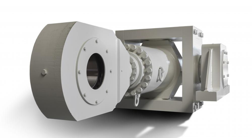 Vameco custom engineering - Cylinders with stroke of 4600mm (weight 17 tons)