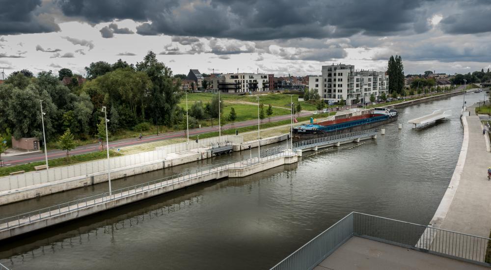 Uitrusting site Harelbeke Vameco Diksmuide