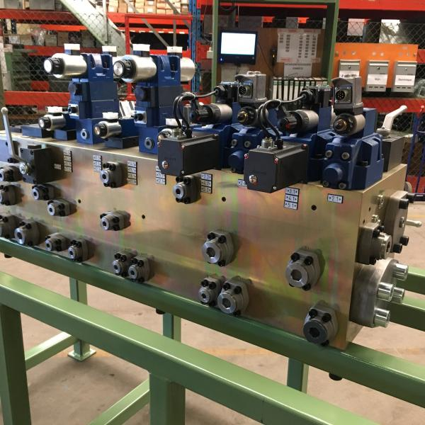 Manifold provided with NiCr-coating - Manufactured by Vameco Diksmuide
