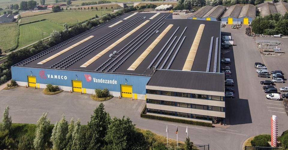 Vameco Diksmuide solution hydraulique pour l'industrie et le marché public.
