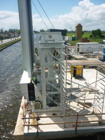 Zandvoordebrug hydraulic applications by Vameco Diksmuide