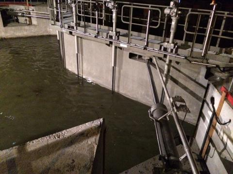 Lock in Harelbeke by Vameco Diksmuide Hydraulic applications