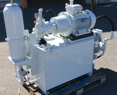 Hydraulic unit - Custommade Vameco Diksmuide
