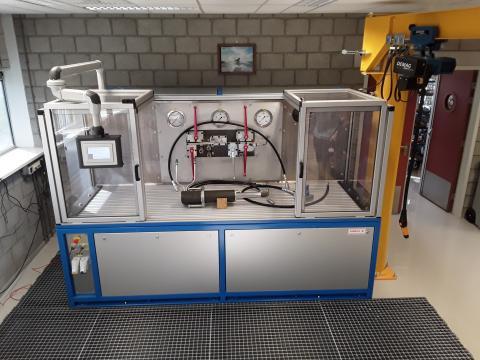 Hydraulische testbank - Engineering, productie en montage