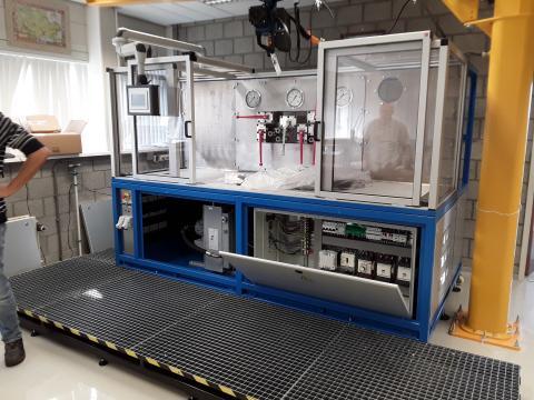 Banc d'essai hydraulique - Etude, fabrication et montage